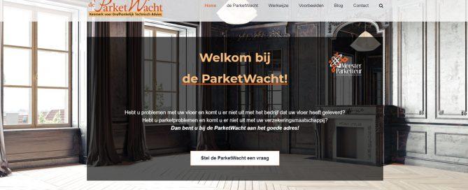 nieuwe website parketwacht